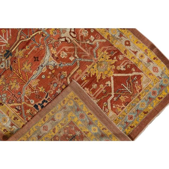 "Vintage Persian Tribal Bakshaish Rug, 7'4"" X 9'4"" For Sale In New York - Image 6 of 11"