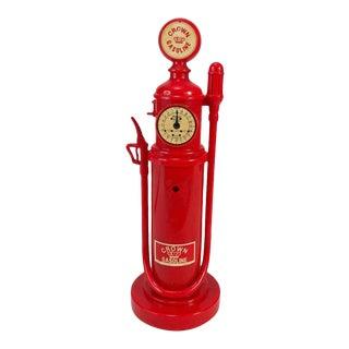 Vintage Chevron Crowl Gasoline Pump Telephone For Sale