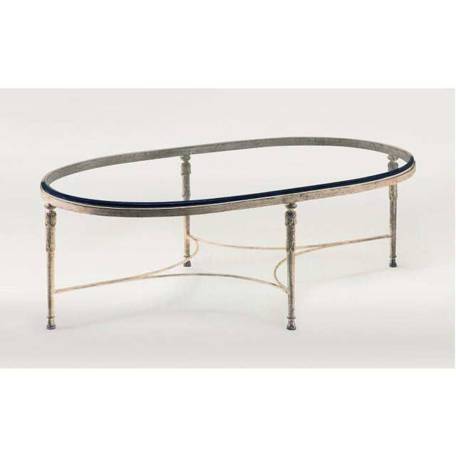 Metal Minton Spidel Iron Coffee Table For Sale - Image 7 of 7