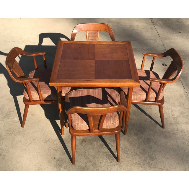 Tomlinson of High Point Mid Century Dining Chairs - Set of 4 For Sale - Image 12 of 13