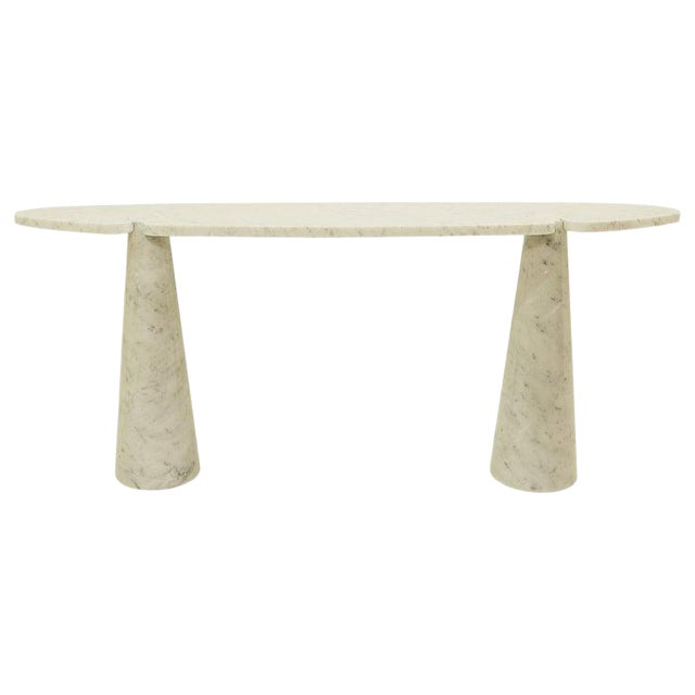 Console in Marble by Angelo Mangiarotti For Sale