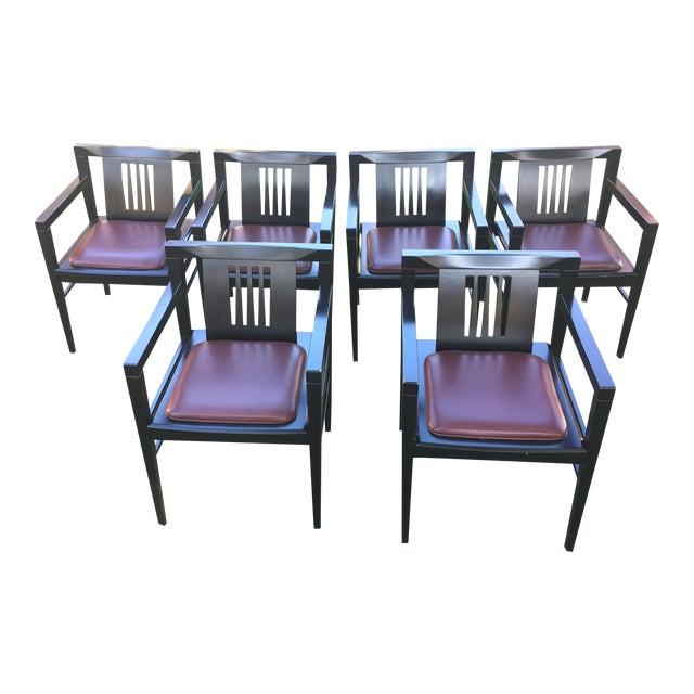 Stendig Italian Stiletto Armchairs - Set of 6 - Image 1 of 9
