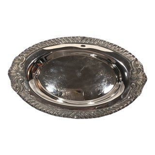 Vintage Sheridan Silver Company Serving Dish For Sale
