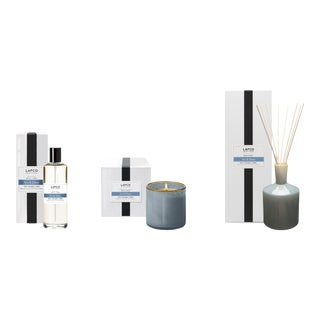 Sea & Dune Signature Candle, Classic Diffuser, and Room Mist Gift Set - Set of 3 For Sale