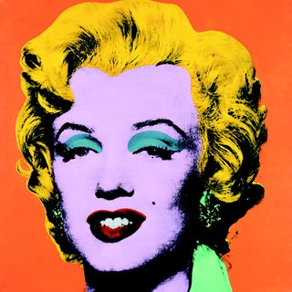 Andy Warhol, Marilyn Orange (Sm), Offset Lithograph, 2000 For Sale
