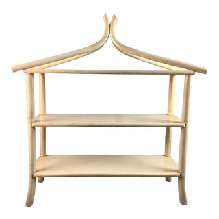 Vintage Pagoda Shelf For Sale