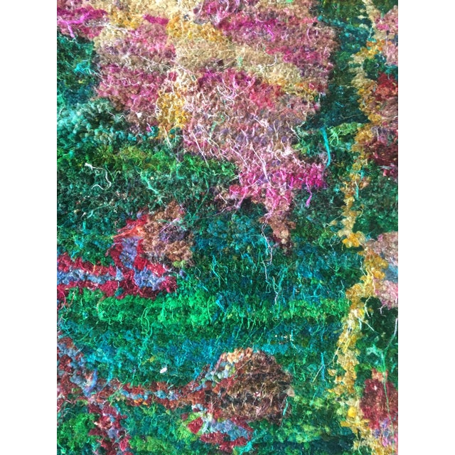 Eva Sari Silk Rug - 7′9″ × 11′6″ For Sale In Los Angeles - Image 6 of 7
