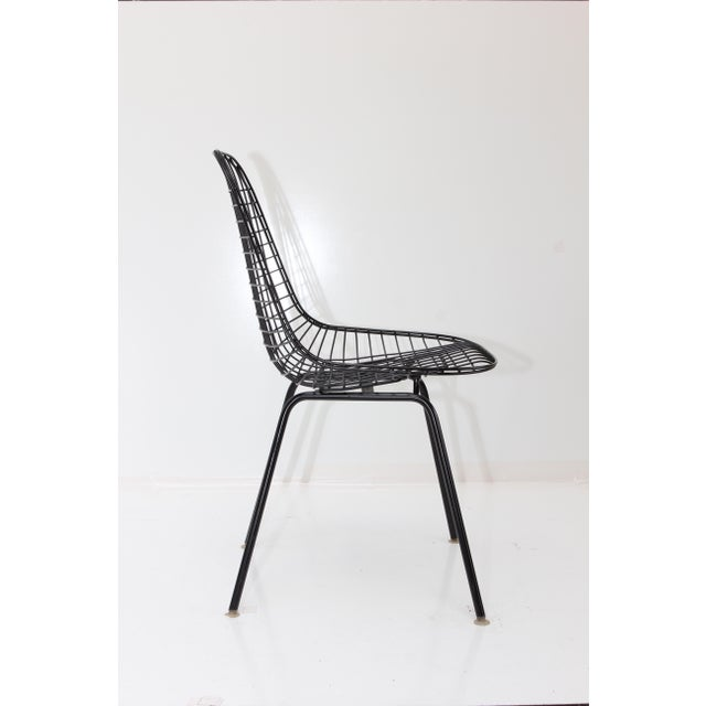 Herman Miller Wire Side Chair - Image 3 of 10