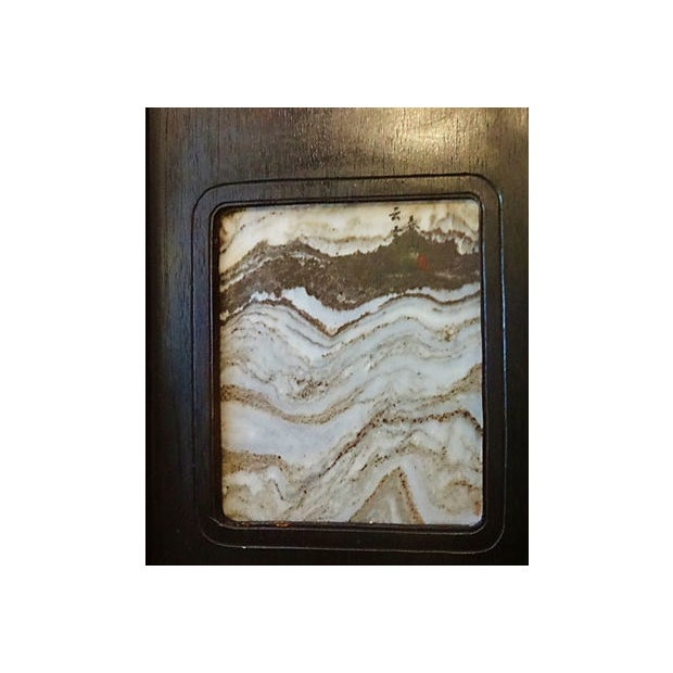 Chinese Framed Dream Stones - Set of 3 For Sale In New York - Image 6 of 8
