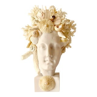 Medium Hygiea Head Sculpture For Sale