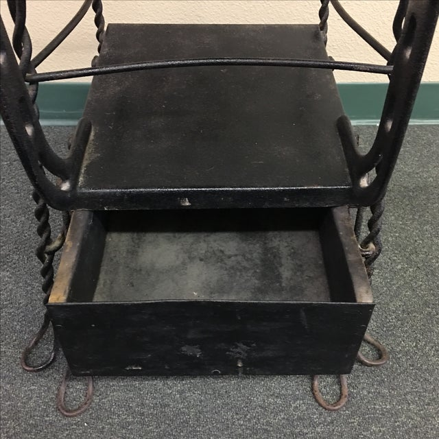 Antique Shoe Shine Stand - Image 5 of 11