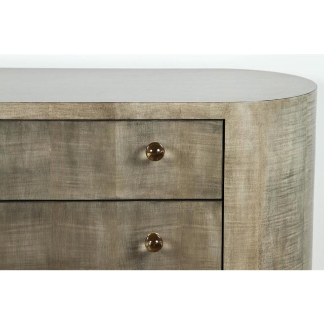 Italian-Inspired 1970s Style Rounded Chest of Drawers - Image 3 of 10