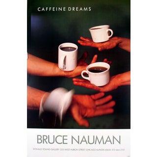 Bruce Nauman_Caffeine Dreams_1987_Offset Lithograph For Sale