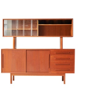 Faarup Mobelfabrik Mid-Century Credenza Bar Cabinet For Sale