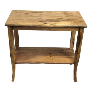 Reclaimed Salvage Wood Consummate Console