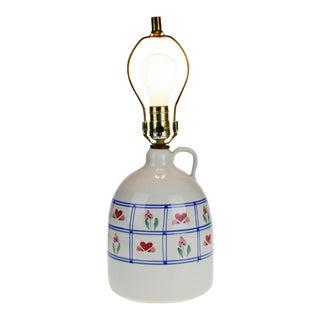 Vintage Ceramic Jug Table Lamp