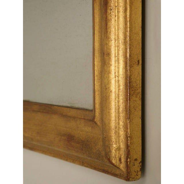 French Louis Philippe Gilt Mirror, Circa 1850 For Sale - Image 9 of 12