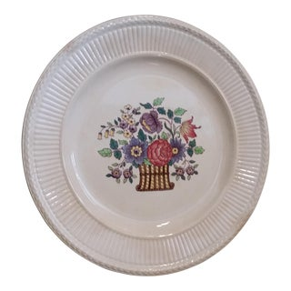 Last Call Antique English Wedgewood China Platter For Sale