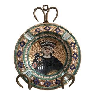 Deruta Pottery Ashtray For Sale