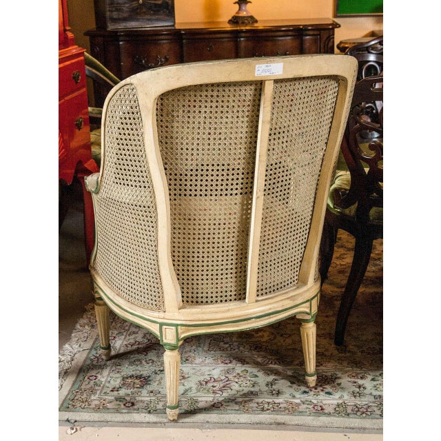 Louis XVI Style Bergere Chairs - A Pair - Image 5 of 7