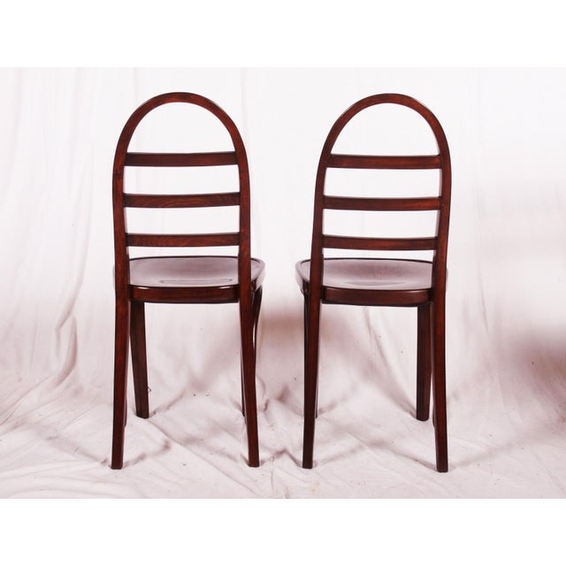 Art Deco Art Deco beechwood chair by Thonet, 1919 For Sale - Image 3 of 9