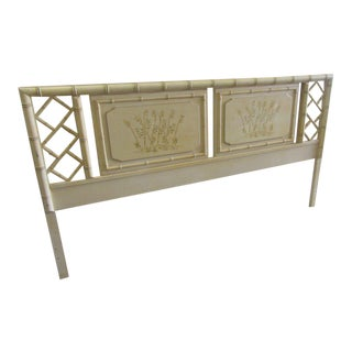 Faux Bamboo Chippendale Headboard