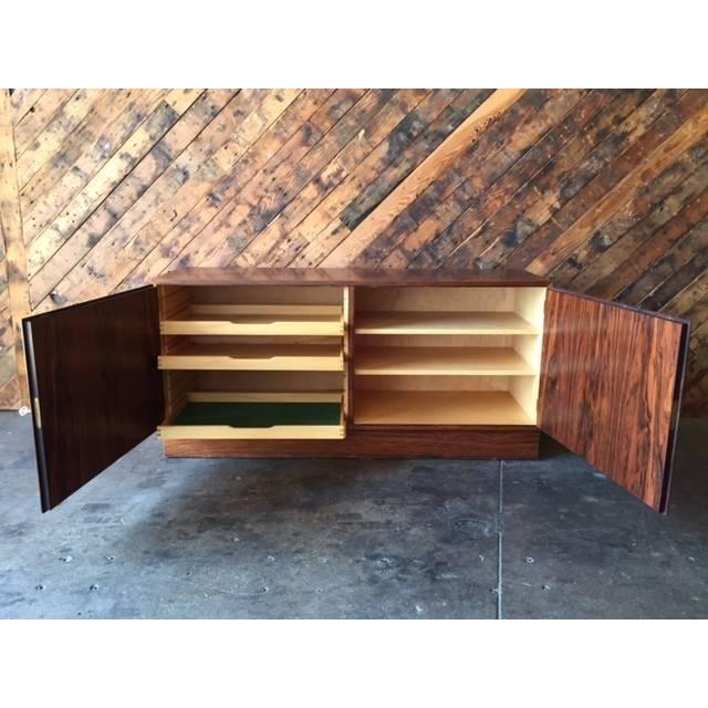 Danish Modern Rosewood Cabinet - Image 5 of 8