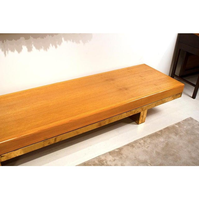 Architectural Bench From the Iconic i.m. Pei Dallas City Hall For Sale In Dallas - Image 6 of 13