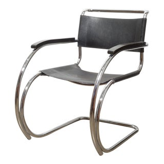 "Mid-Century Mies Van Der Rohe ""Mr"" Armchair C.1970s For Sale"