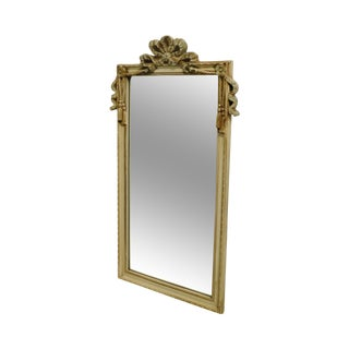 Decorative Arts, Inc. French Louis XV Painted Frame Beveled Wall Mirror For Sale