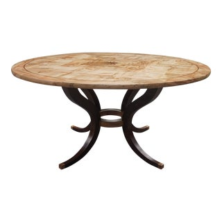 Round Modern Dining Table For Sale
