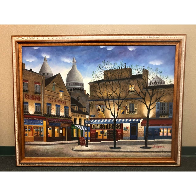 Large Scale Paris City Scene, Original Artwork For Sale - Image 12 of 12