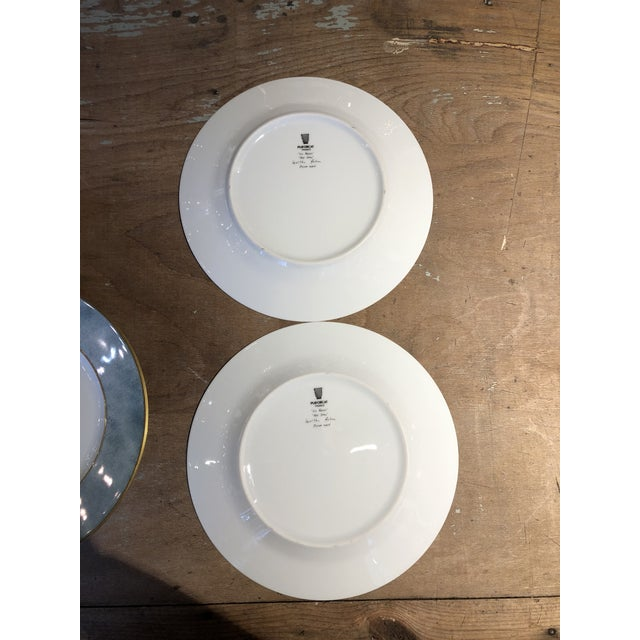 Set of Six Galuchat Plates by Manuel Canovas for Puiforcat For Sale - Image 11 of 13