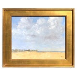 "Image of ""Kiawah Island, SC"" Oil Painting on Board by Kenneth Milton For Sale"