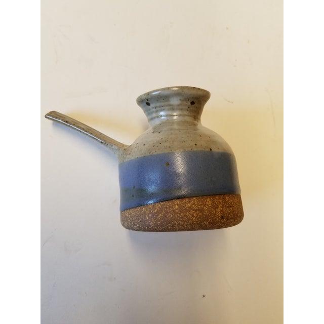 Danish Modern Byron Temple Studio Pottery Creamer For Sale - Image 3 of 4