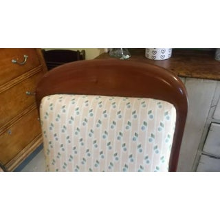 Late 19th Century Antique Mahogany Brown Victorian Rocking Chair Preview