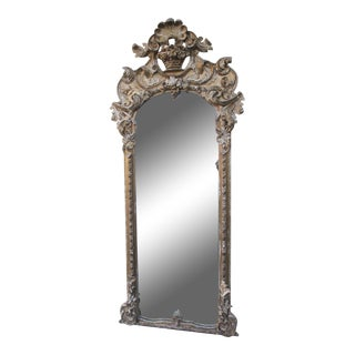 19th Century Italian Gilt Wood Mirror