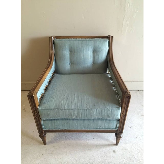 Mid-Century Hollywood Regency Style Arm Chair - Image 6 of 6