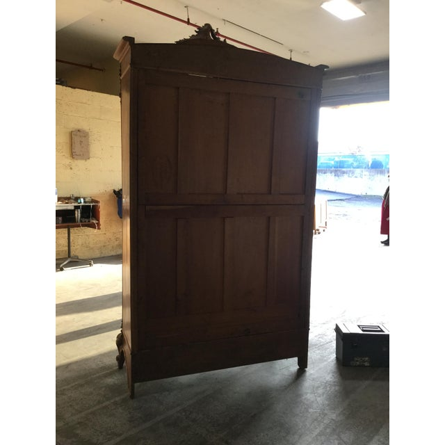 Brown 19th Century French Armoire For Sale - Image 8 of 10