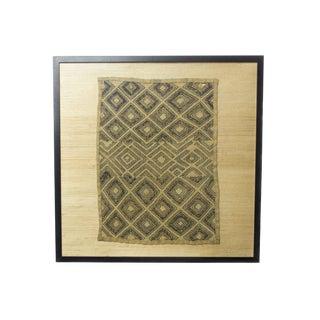Framed Kuba Kloth For Sale