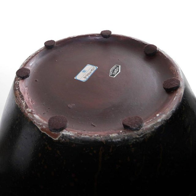 Contemporary 1990s Contemporary Ceramic Decorative Vase For Sale - Image 3 of 7