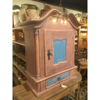 19th Century Antique Swedish Wall Cabinet Preview