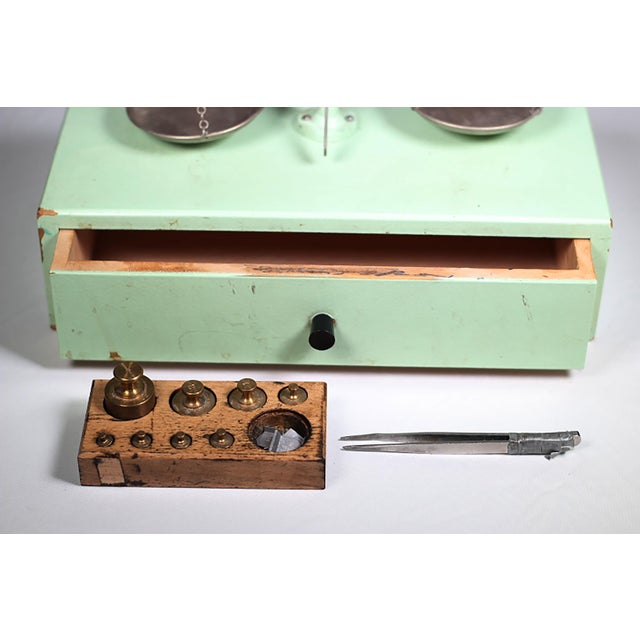 1940s West German Pharmacy Scale - Image 4 of 4