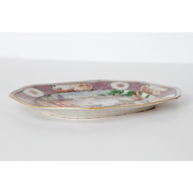 Chinese Export / Manderin Palette Platter For Sale - Image 10 of 12