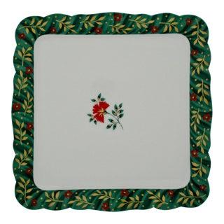 Isabelle de Borchgrave Plate For Sale