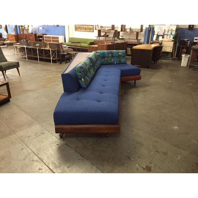 Mid Century Adrian Pearsall for Craft Associates Model 1800 Boomerang Sofa - Image 5 of 11