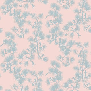 Fairy Forest Wallpaper Remnant For Sale