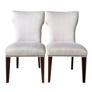 Sam Moore Custom Dining Chairs - a Pair For Sale