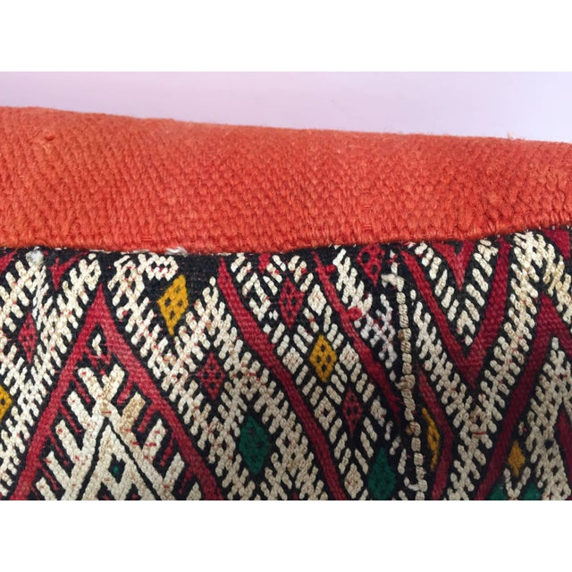 Moroccan Berber Pillow With Tribal African Designs For Sale - Image 12 of 13