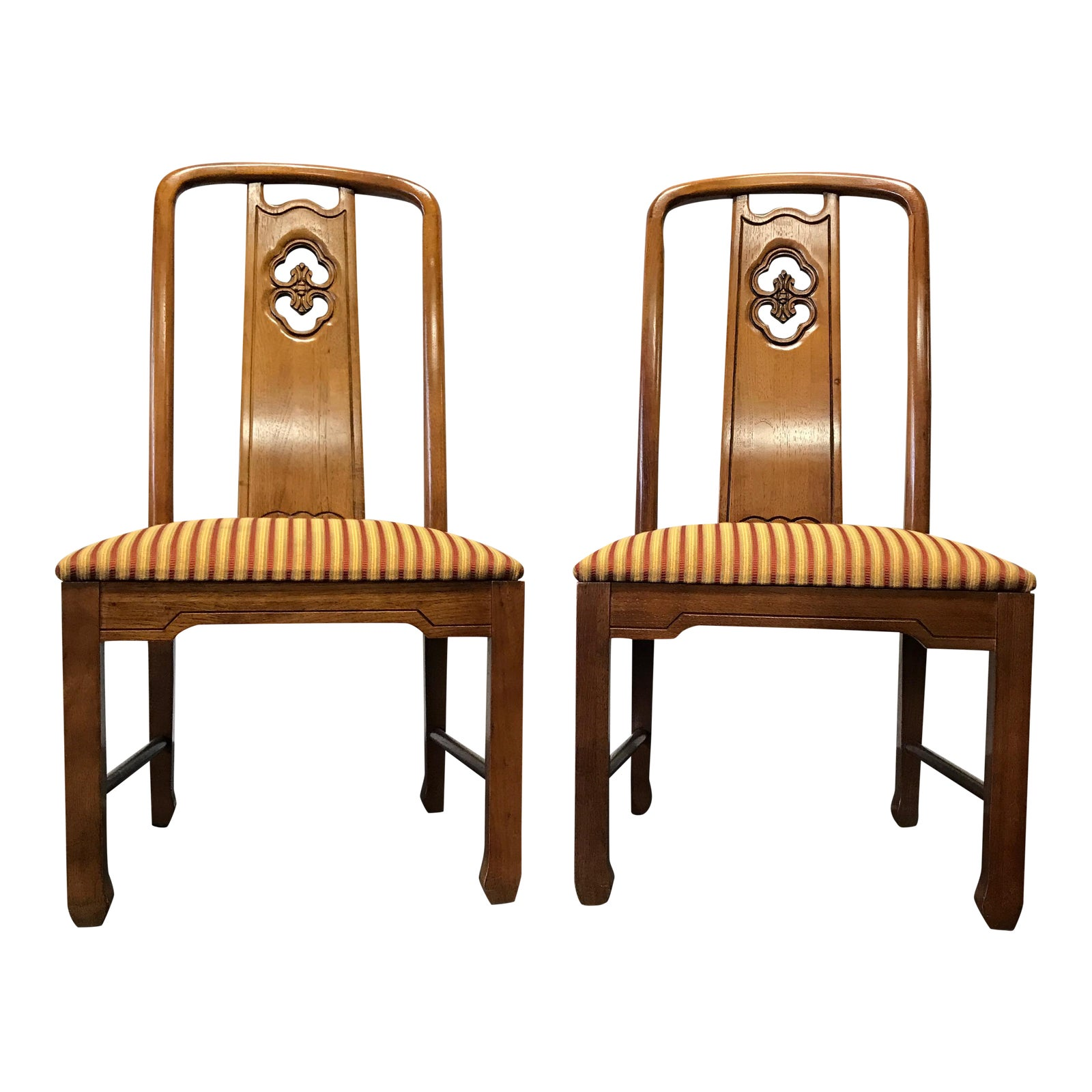 Thomasville Dining Room Furniture: Thomasville Mystique Dining Chairs - A Pair